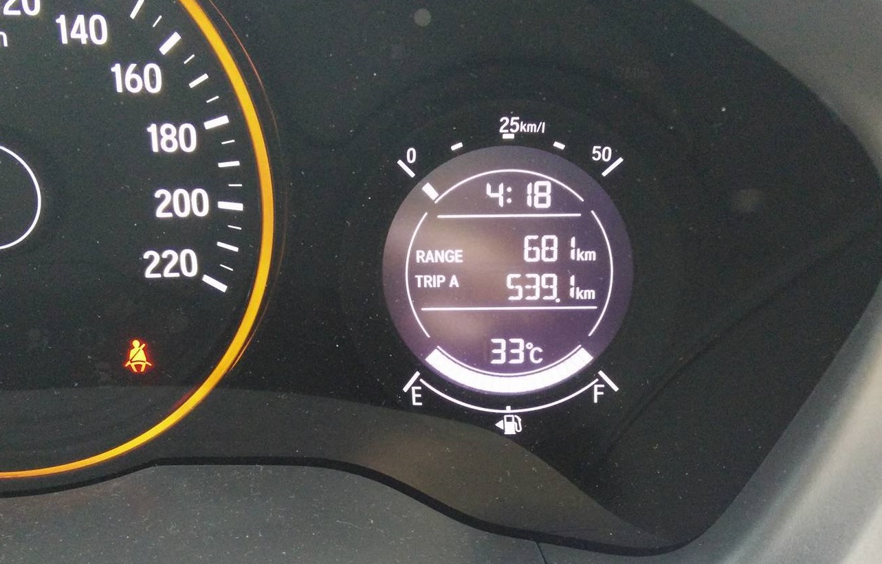 Honda Hrv Fuel Consumption With Ron95 Myhrv