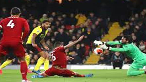 سقوط ليفربول إمام واتفورد الهزيمة الاولى للريدز فى الدوري الإنجليزي