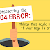 Dissecting 404: Things That Could Happen if Your Page is Broken #infographic
