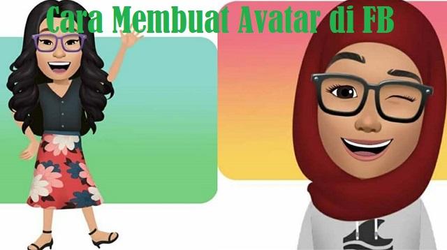 Cara Membuat Avatar di FB