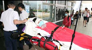 2 Pria Indonesia, berkelahi di Tsuen Wan dan satu luka serius
