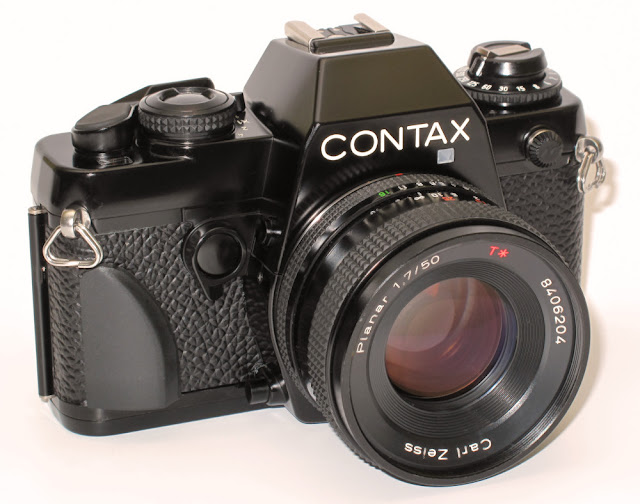 Contax 139 with grip. No self timer.