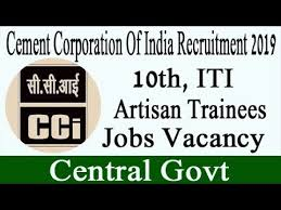 Cement Corporation of India Limited Recruitment for Artisan Trainee Apply Online @ cciltd.in /2019/10/Cement-Corporation-of-India-Limited-Recruitment-for-Artisan-Trainee-Apply-Online-at-cciltd.in.html