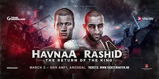 Kai Robin Havnaa vs. Rad Rashid For WBO Int. Cruiserweight Title