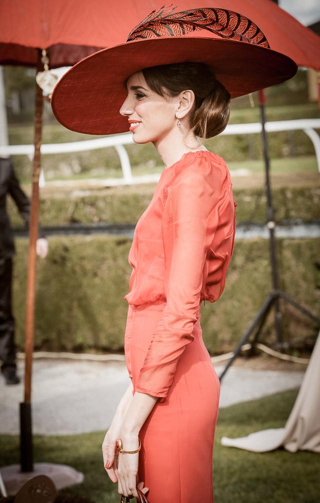 invitada boda perfecta blog vestido amarillo naranja look a todo confetti
