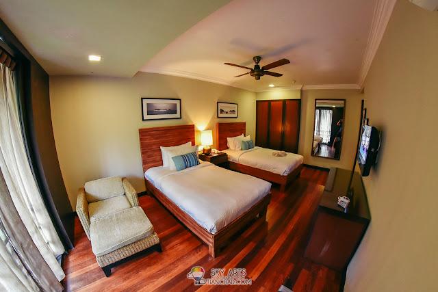 The Taaras Garden Suite Room View