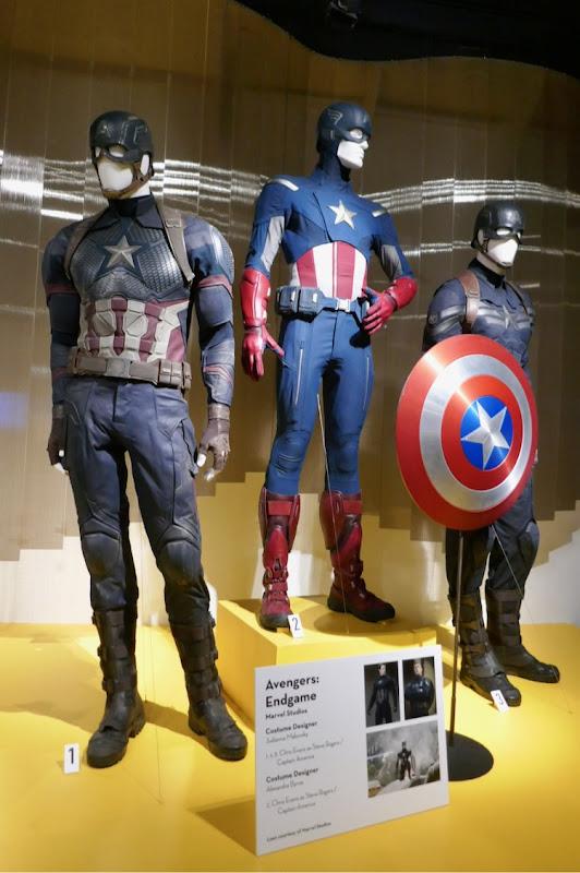 Captain America movie costumes FIDM Museum