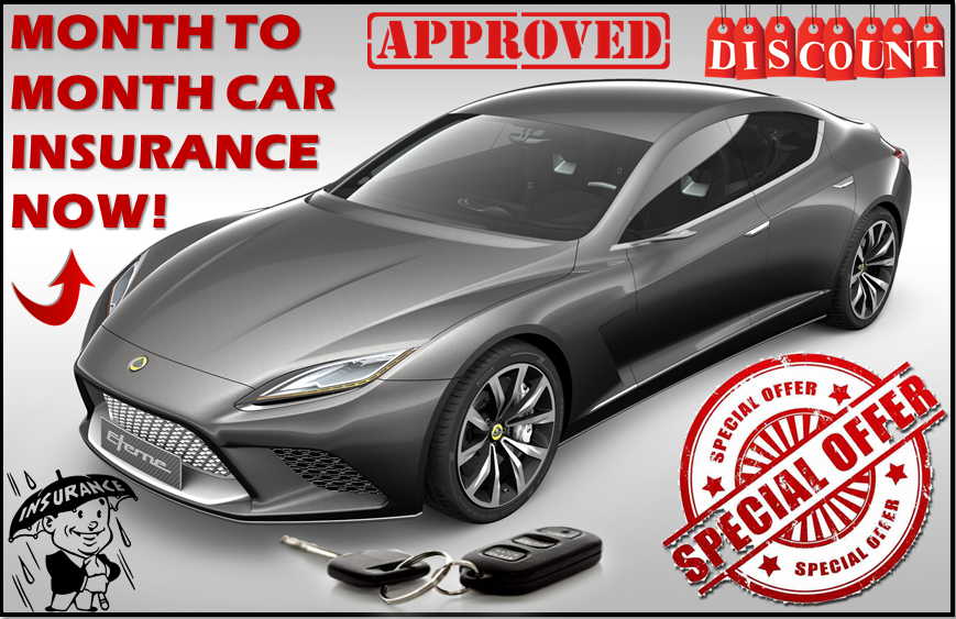 Get The Best One Month Car Insurance Now!