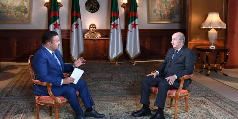 عبد المجيد تبون قناة الجزيرة+ملخص تصريحات السيد رئيس الجمهورية للجزيرة+لقاء تبون مع الجزيرة+توقيت بث حوار تبون على الجزيرة+Tebboune+Aljazeera+tv+live