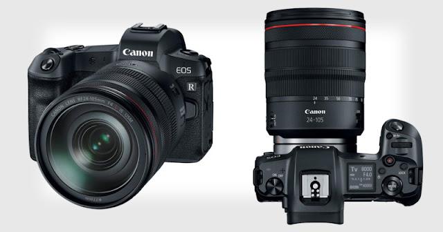 Canon EOS R5: Sensore da 45MP, stabilizzazione integrata e video 8k