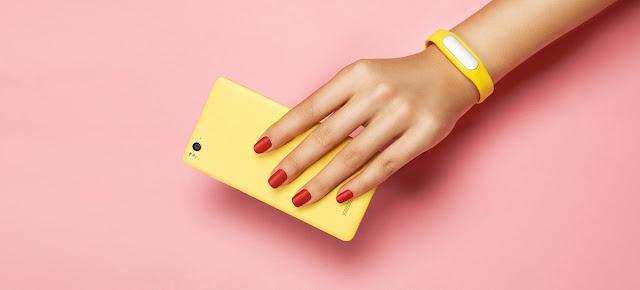 XIAOMI Mi4C colore giallo retro