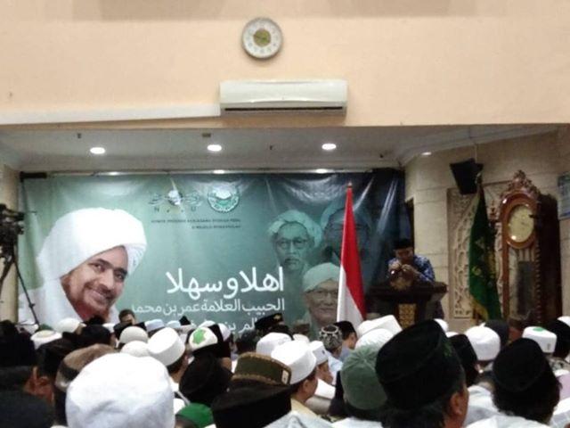Ngaji Kitab Bersama Habib Umar Bin Hafidz di PBNU, bentuk Dukungan Perjuangan NU