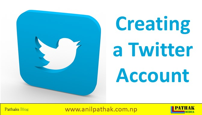 creating a twitter account