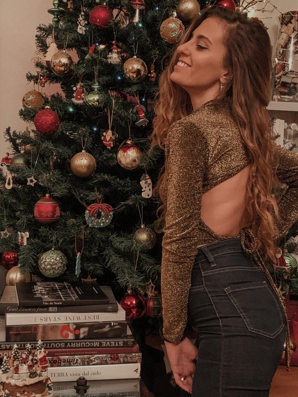 outfit capodanno 2020: paillettes e glitter per giorni di festa, outfit glitter e paillettes, outfit capodanno, Valentina Rago, fashion need
