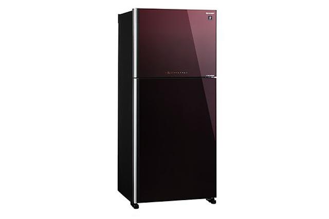 Tủ lạnh Sharp Inverter 394 lít SJ-XP435PG-BR