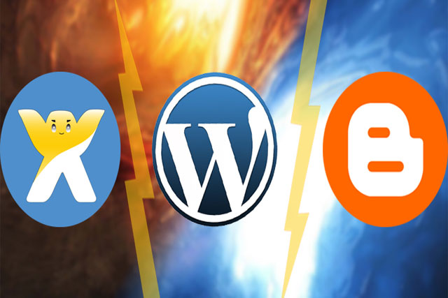 افضل منصة تدوين مجانية من بين بلوجر ووردبريس وويكس