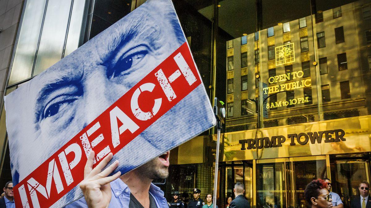 Presentan formalmente la resolución para iniciar un 'impeachment' a Trump