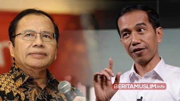 Ada Lima Alasan Mengapa Jokowi Tidak Layak Dipilih Kembali Versi Rizal Ramli