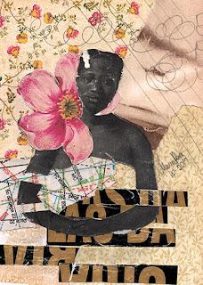 Colagem Teresa de Benguela por Maria Rosa