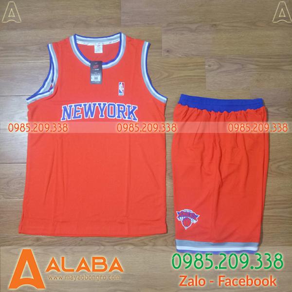 Áo bóng rổ vải thun thoáng mát