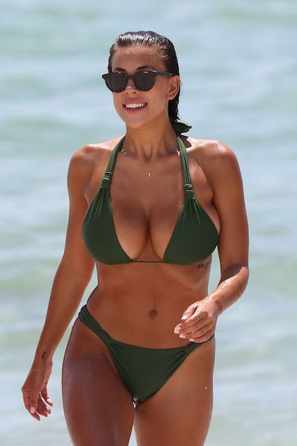 Devin Brugman at a Beach, Miami