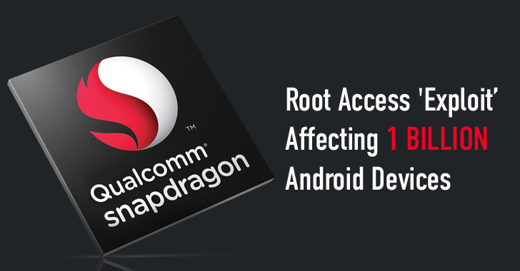More than a Billion Snapdragon-based Android Phones Vulnerable to Hacking