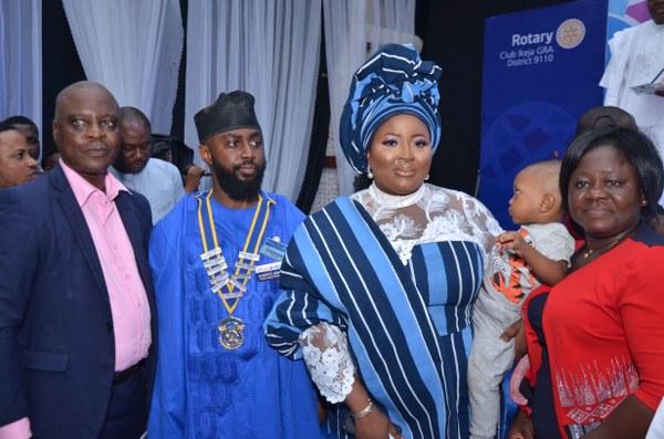 ROTARIAN OLAWUYI ABINIBI BECOMES 10TH PRESIDENT OF IKEJA GRA ROTARY CLUB