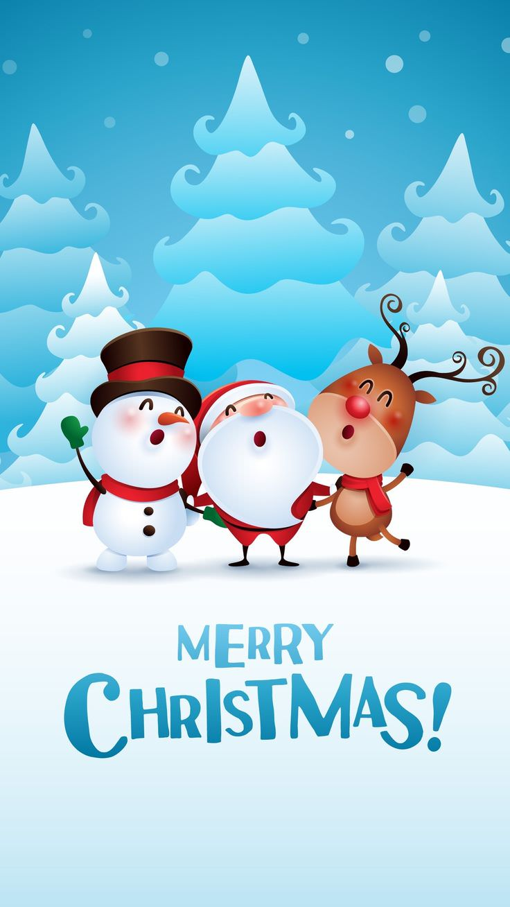 Merry Christmas HD Wallpaper for iPhone