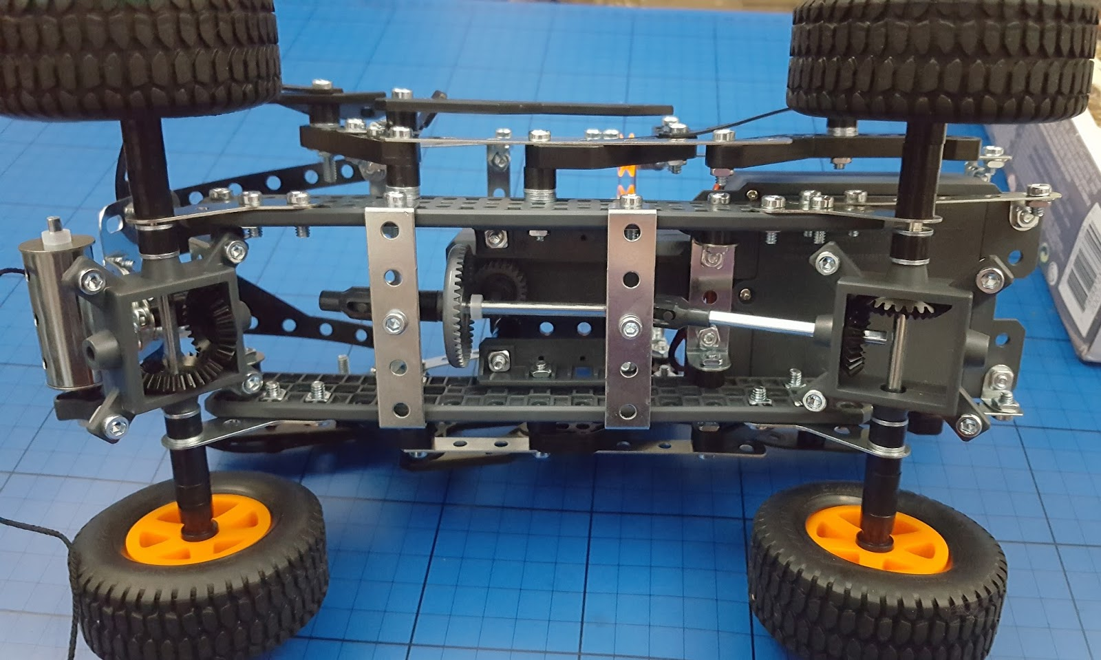 Motor Reversing Switches Electronics In Meccano The Brick Castle 25 4x4 Off Road Truck Review Age 9 There Is A 3 Way Switch For Forward And Reverse Which Quite Hard To Get With This Model