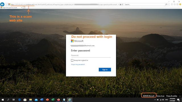 3213.z8.web.core.windows.net phishing site