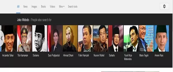 Terdekat Jokowi 17 - 24
