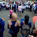 """Mahasiswa Klaten Tuntut KPK Berani Usut Tuntas """"Mega Proyek"""" Di Klaten, Masjid Agung Al'Aqsha,Terminal Bus Dan RSUD Bagas Waras."""