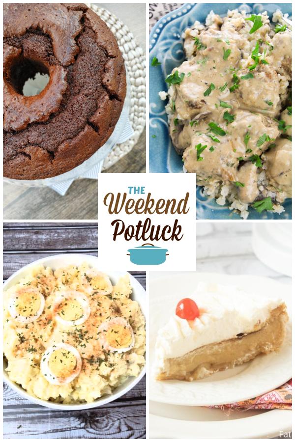 A virtual recipe swap with Chocolate Pound Cake, Gourmet Meatball Stroganoff, Best Ever Potato Salad, Butterscotch Custard Pie and dozens more!