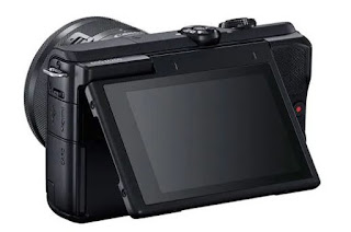 Canon EOS M200 Mirrorless Camera LCD View