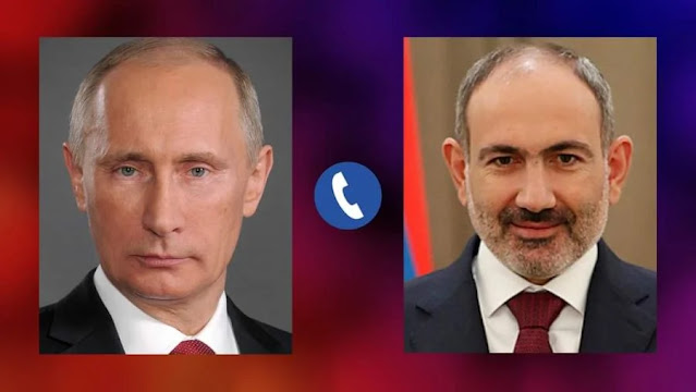 Ο Πούτιν ζήτησε κατάπαυση του πυρός από την... Αρμενία