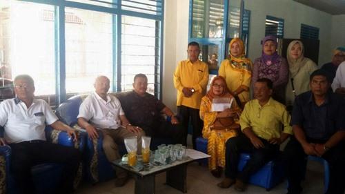 Puluhan Tim Pemenangan Mardison Sambangi Kantor PAN