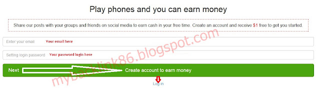 how to register shared2earn