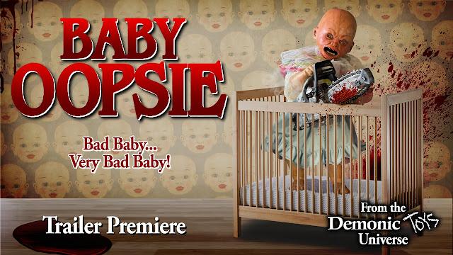 Tráiler de BABY OOPSIE (Parte 1), spin-off de la franquicia 'Demonic Toys' de Full Moon
