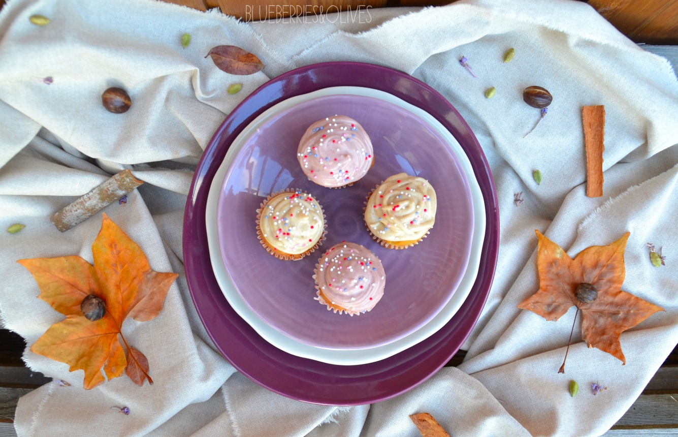 Cupcakes de calabacín, cardamomo y anís 9