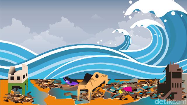 Wanti-wanti Potensi Tsunami 20 Meter dan Rencana Mitigasi RI