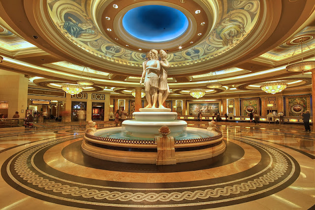 Onde é o Hotel Caesars Palace