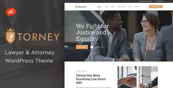Best Lawyer and Attorney Theme