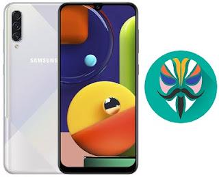 طريقة عمل روت لجهاز Galaxy A50s SM-A507FN اصدار 9.0