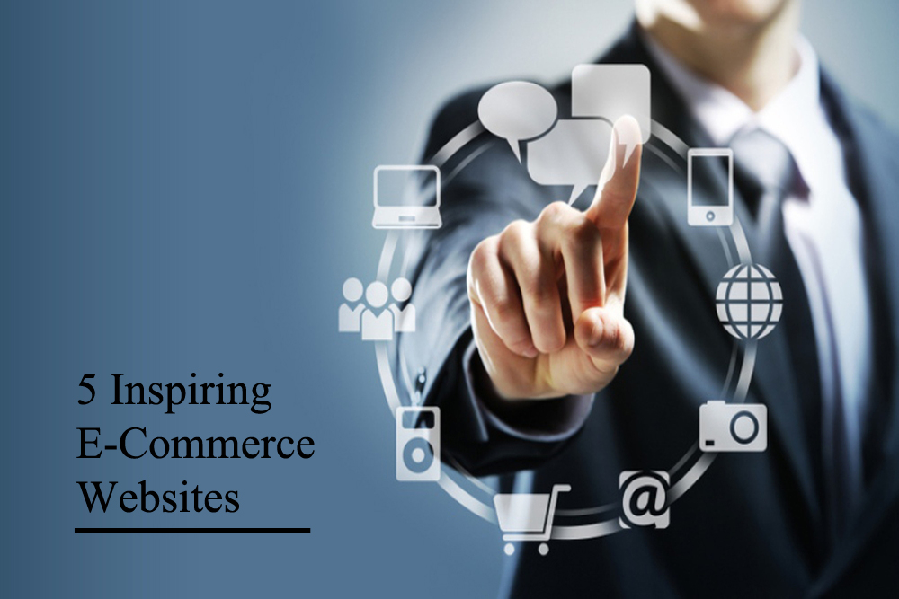5 Inspiring E-Commerce Websites