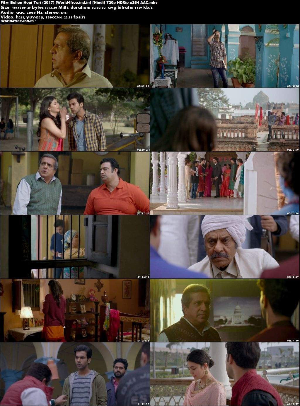khatrimaza Behen Hogi Teri 2017 Full HDRip 720p Hindi Movie Download