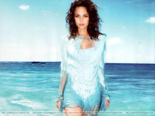 josie maran, model, actress, josie maran where to buy, blue dress, near the sea shore