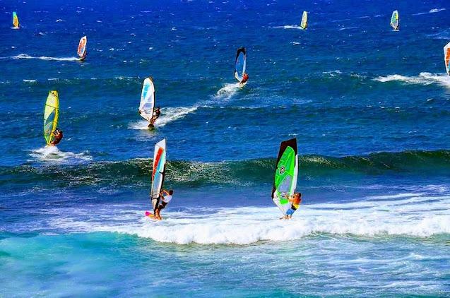 Se realizan mundialmente torneos de Windsurfing en Fuerteventura