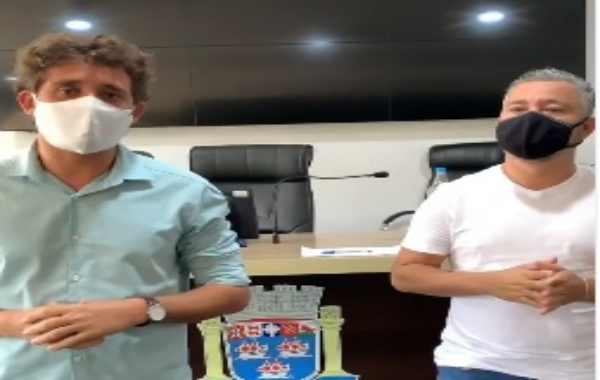 Veja Video, onde o vereador Vinicius Parracho diz que quer conhecer a cidade que os vereadores da base vivem.