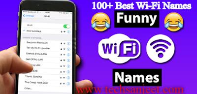 Best Wi-Fi Names