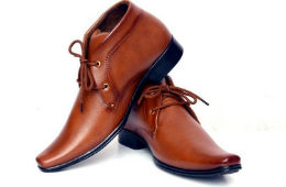 Men's Synthetic Leather Formal Shoes For Rs 499 (Mrp 1499) at Amazon